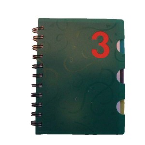 Spiral Notebook with PVC cover,office