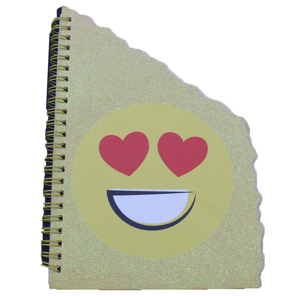 Sprial notebook paper different cartoon shape