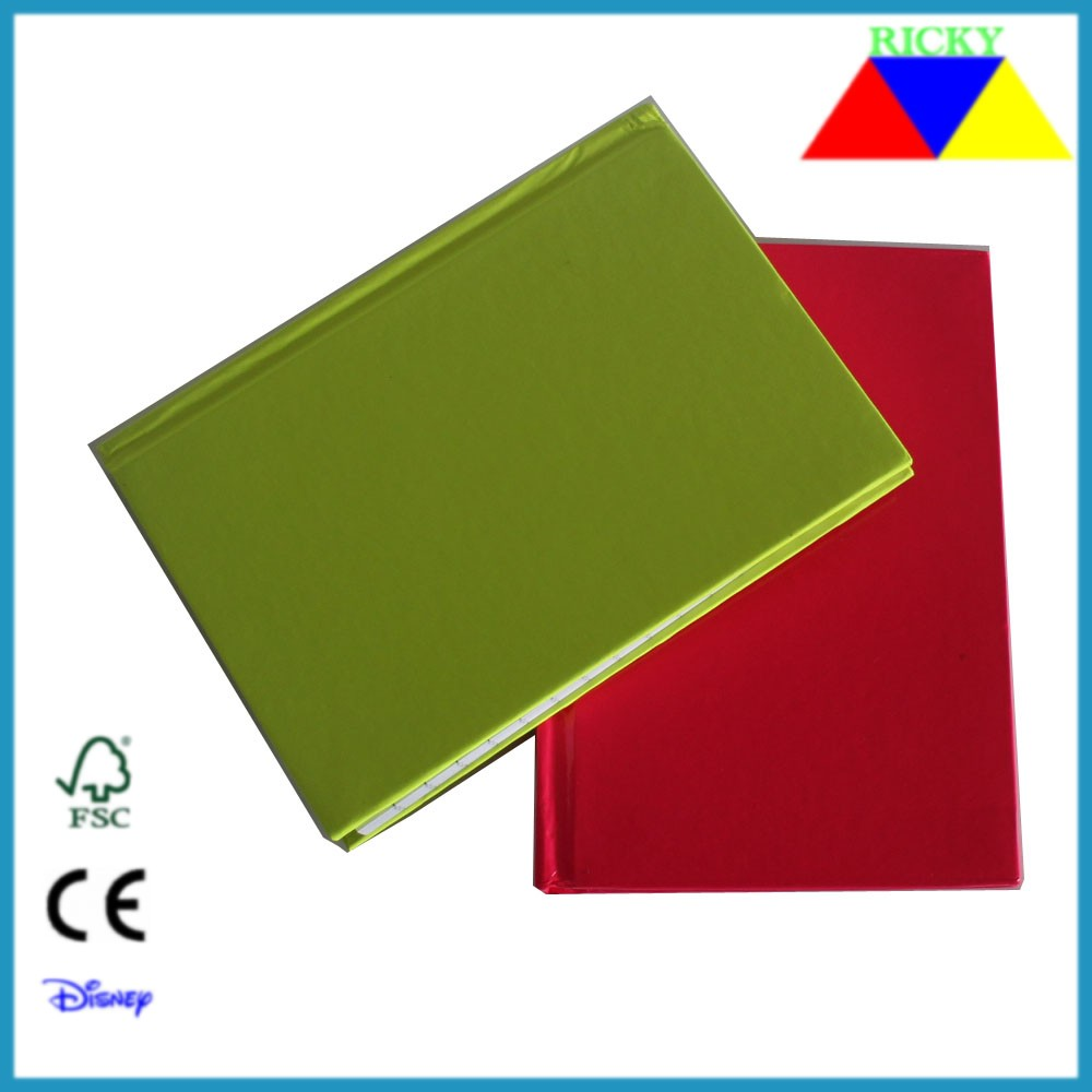 Fluorescent color cover customized hard cover story book