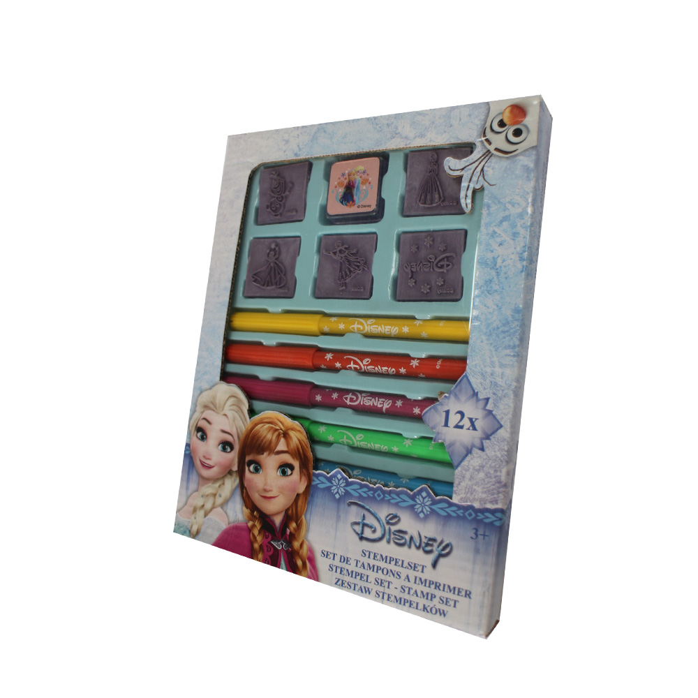 Creativity stamp set with water color pen,Disney approved, Mickey, LOL surprise ,Frozen