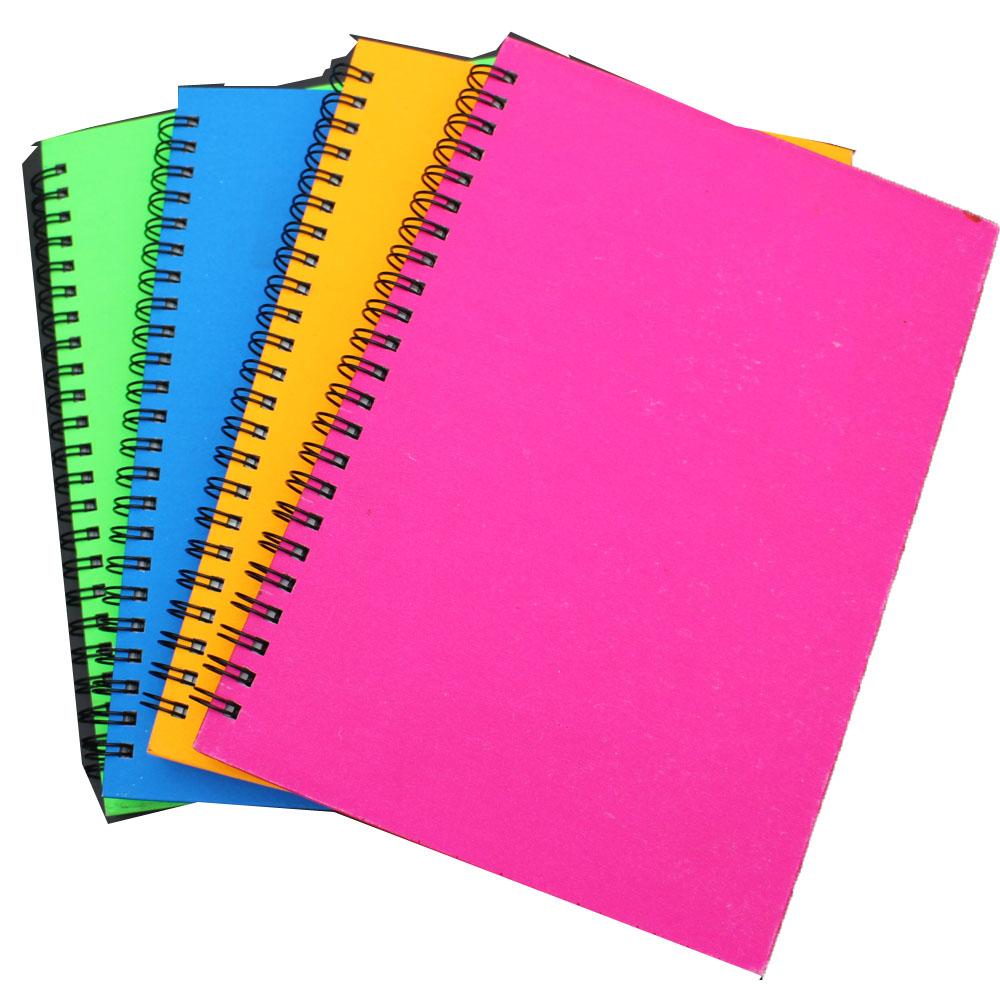 Double wire notepad several colors assorted
