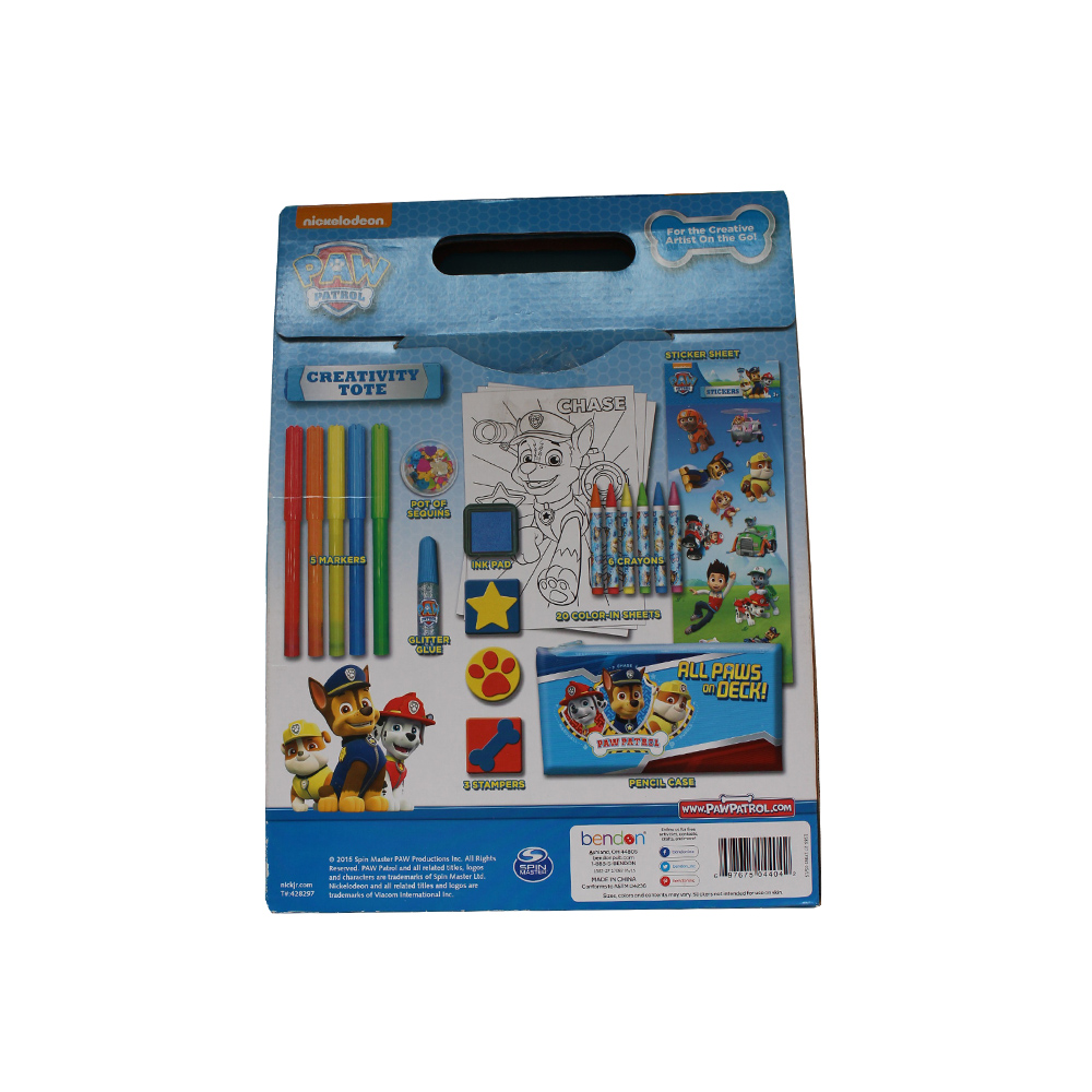 Colour-in Drawing Set for kids With Sticker/Stamp/Color Glitter.jpg