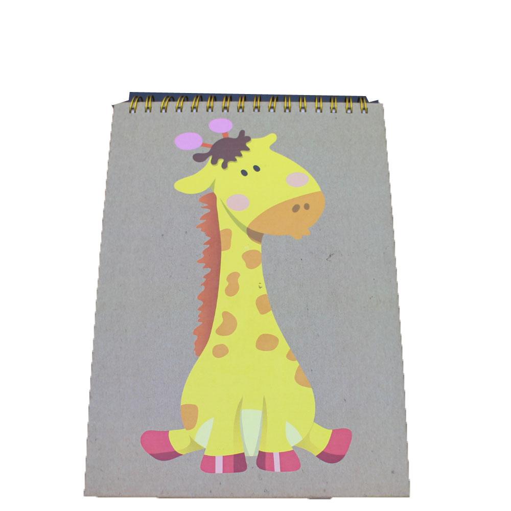NB-R059 fashion design A5 notebook FSC diecut notepad