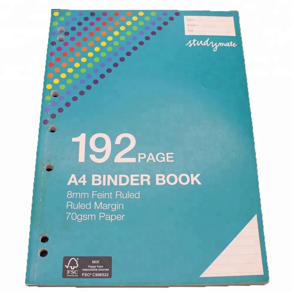 Binder Notebook paper