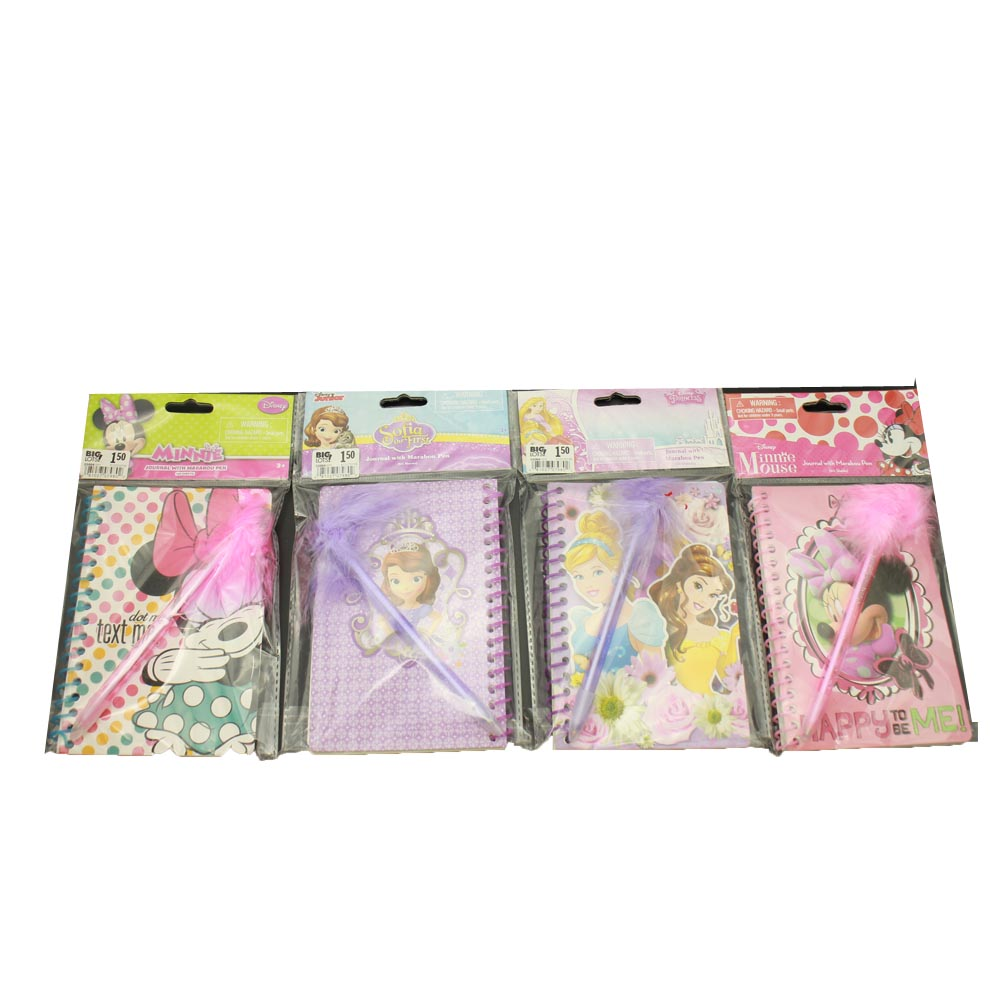 NB-R034 set of plastic spiral composition notebook FSC with ball pen