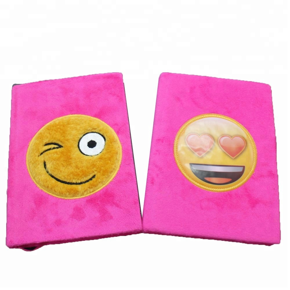 Stationery emoji plush Notebook Journal for children Great Party Favors