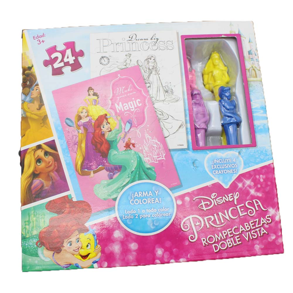 Promotional 24PCS Coloring Puzzle Set