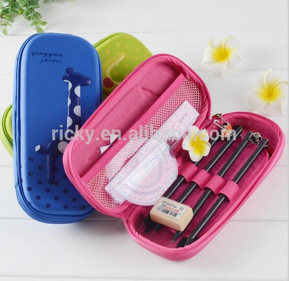 OEM/ODM Manufacturer Rivet Caps Plastic - 2017 classic design cute pencil case large silicone pencil case custom with your logo – Ricky Stationery