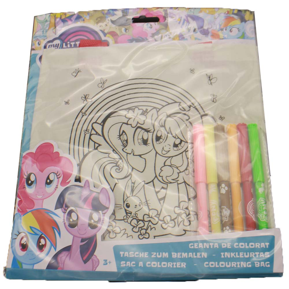 Promotional new fashion printing coloring bag for children, have fun and get creative