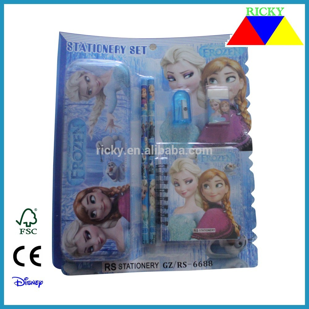 Cheap price custom cute stationery item with various cartoon pattern