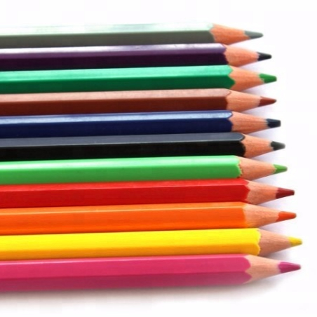 Top Quality Promotional plastic color Pencil kids safe