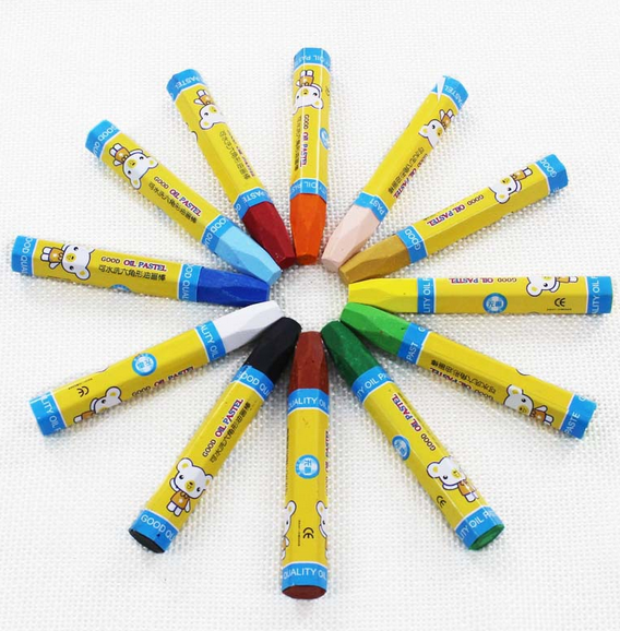 2017 China New Design Stationery Sets For School Children - pencil crayons wax Crayons set multicolor crayon pen packed in color box custom your logo – Ricky Stationery