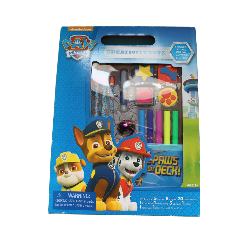 Creativity Colour-in Drawing Set for kids With Sticker/Stamp ...