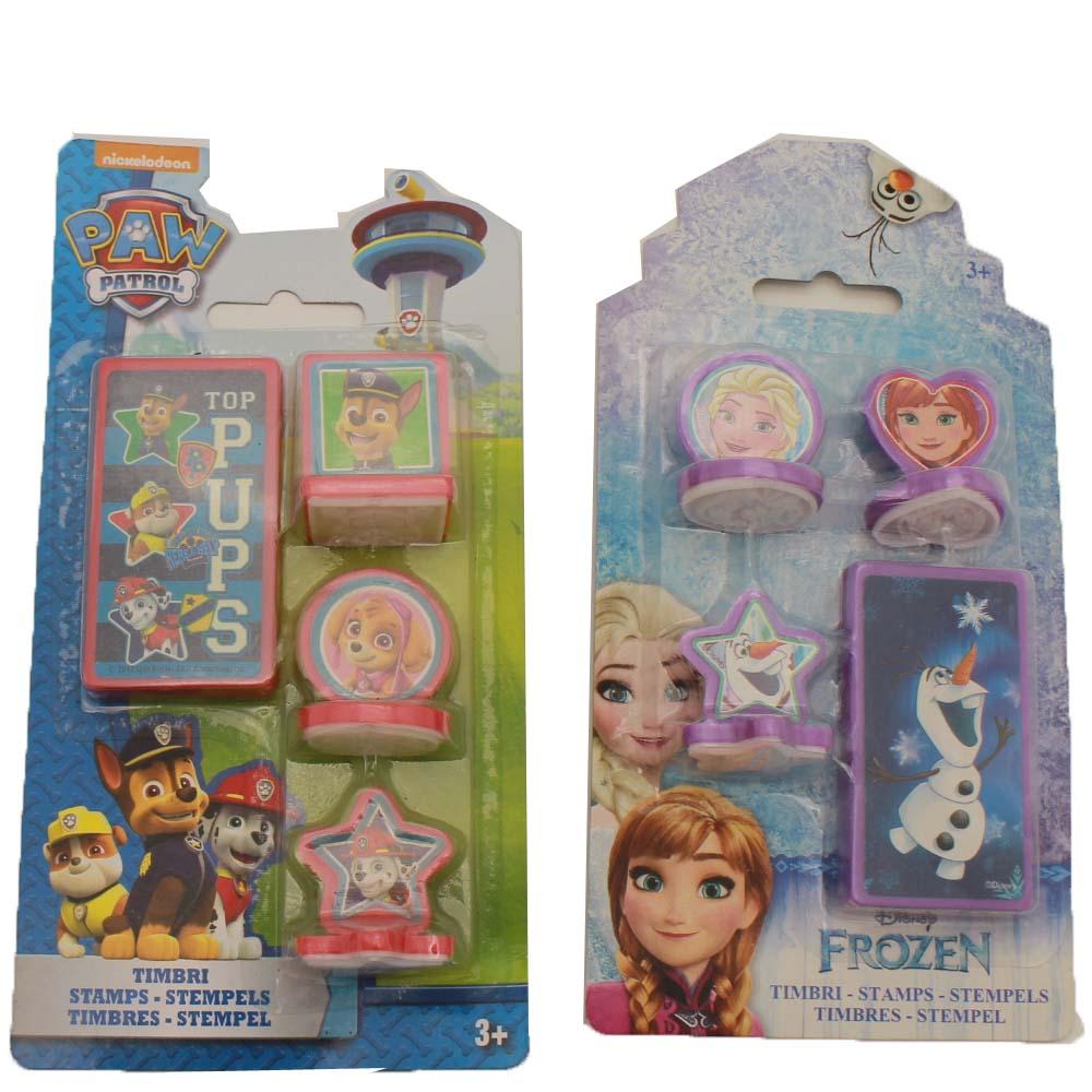 creativity plastic stamp set for kids