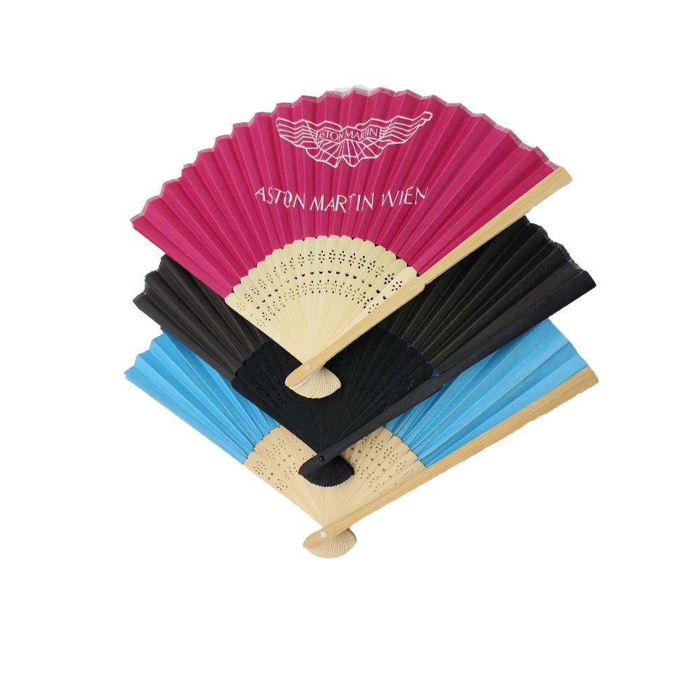 Festival wooden folding fan