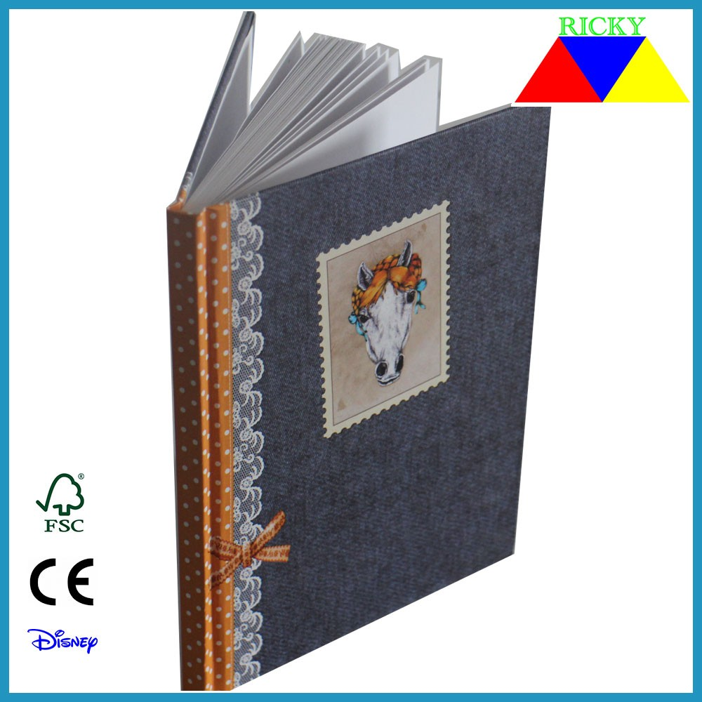 Hard cover notepad