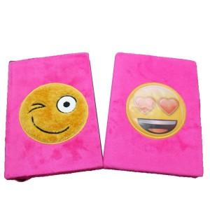 Emoji Plush Notebook